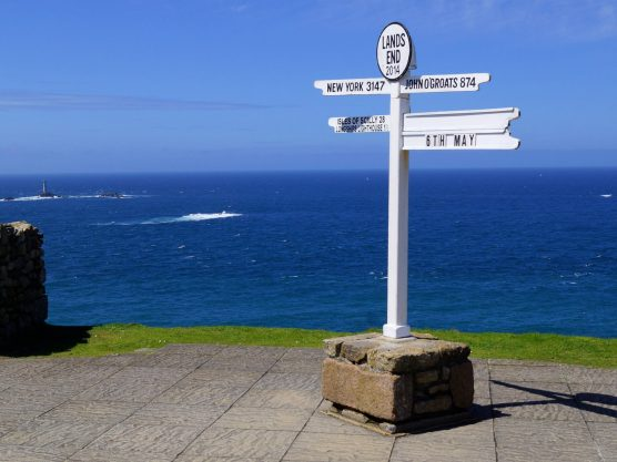 A cracking fundraiser to Lands End….