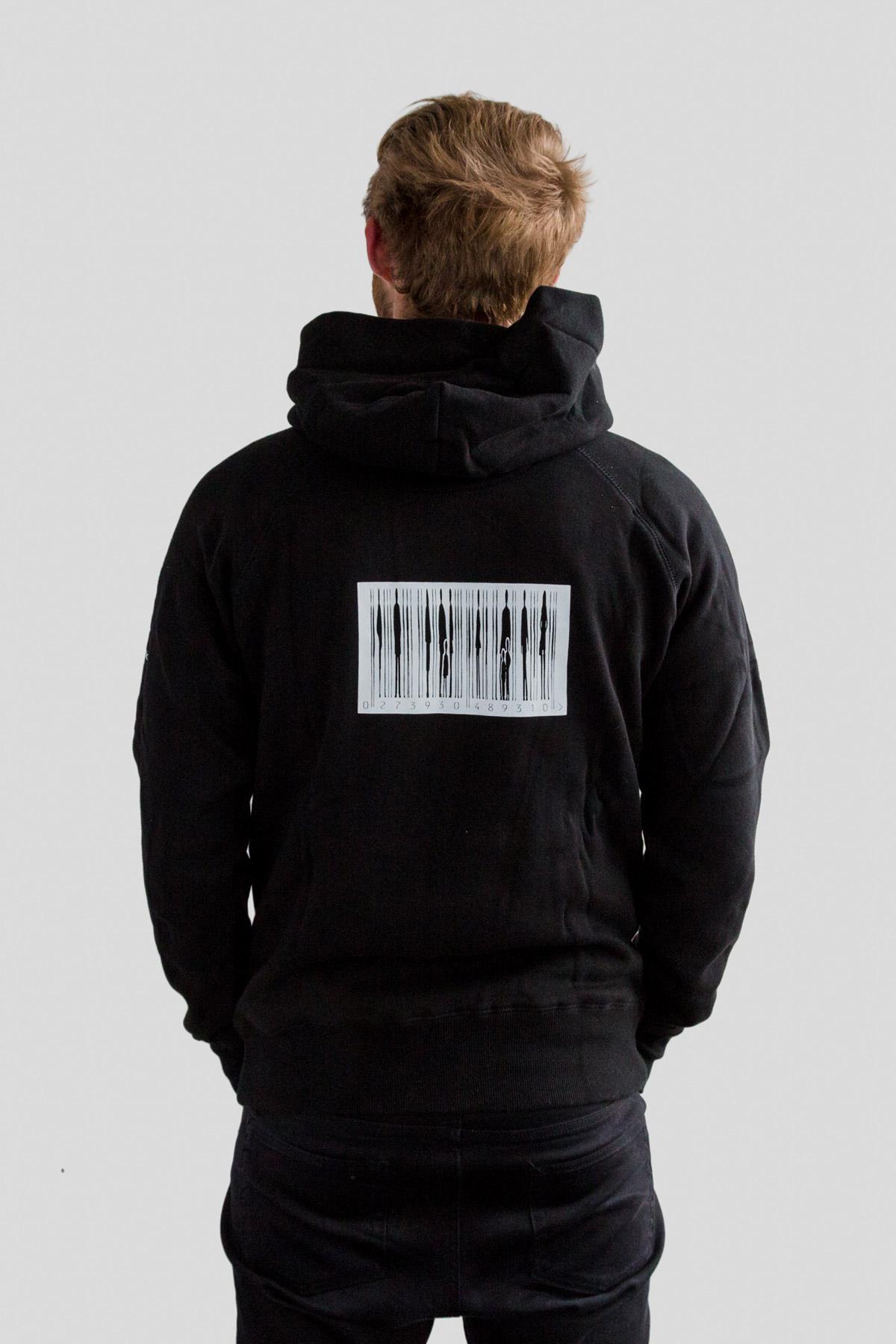 2d9bead6 Mens Barcode Hoodie