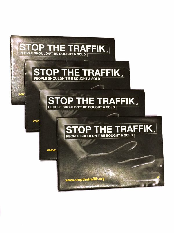 Signs of trafficking flexi-card front