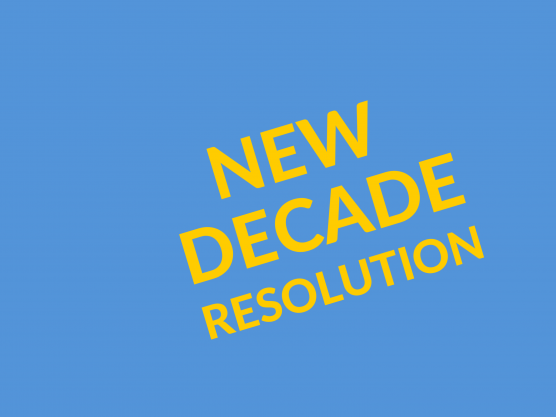 Hello 2020! Our New Year's Resolutions