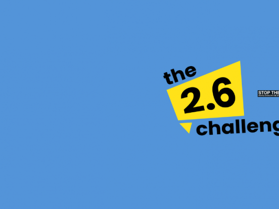 Join the Two Point Six Challenge for STOP THE TRAFFIK